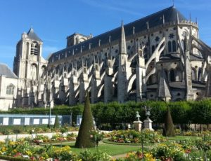 Bourges,capitale du Berry.