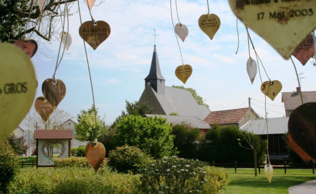 Saint-Valentin, le village des amoureux