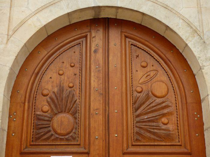 porte eglise Ambrault