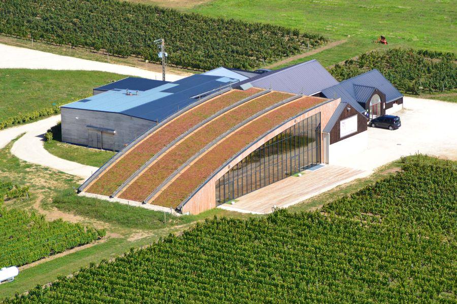 Domaine de Montcy photo aerienne salle