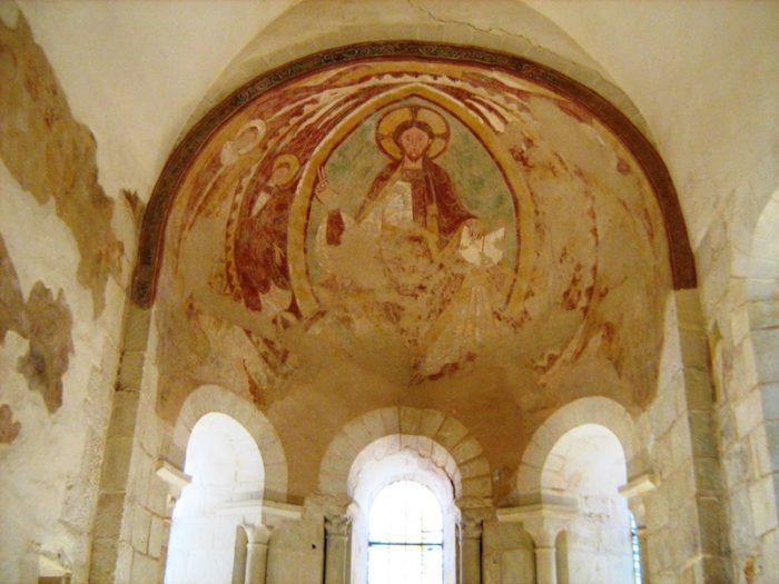 Eglise Neuvy-Pailloux – la fresque