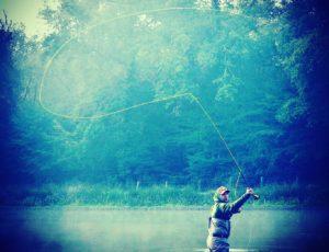 Pêche dans le Liennet