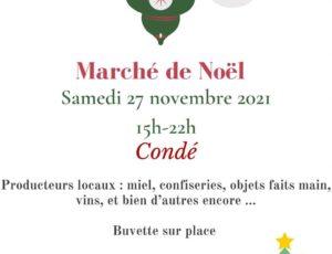 Marché de Noël à Condé