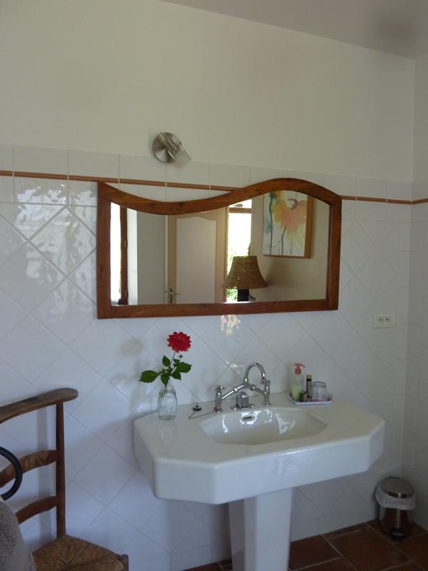 Maison de Marie – Salle d-eau