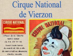 © Exposition Cirque national de Vierzon
