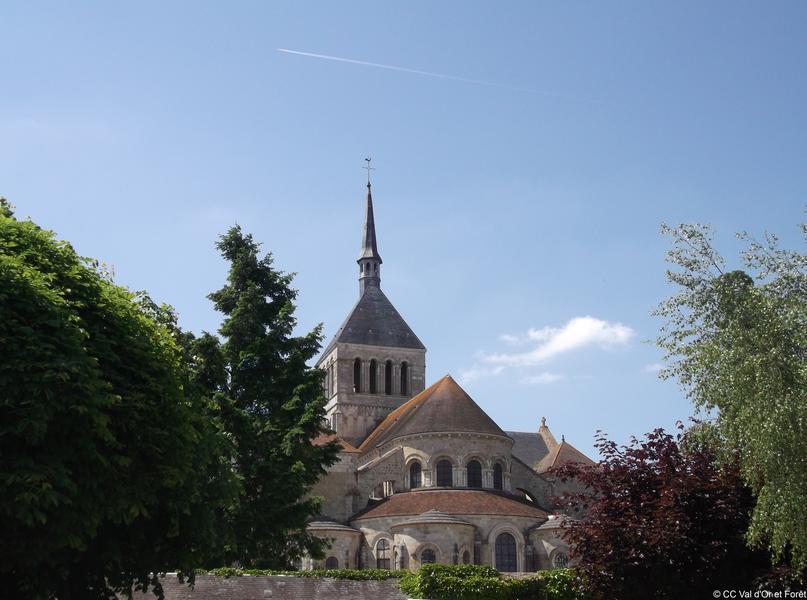 St_Benoit_chevet_abbatiale
