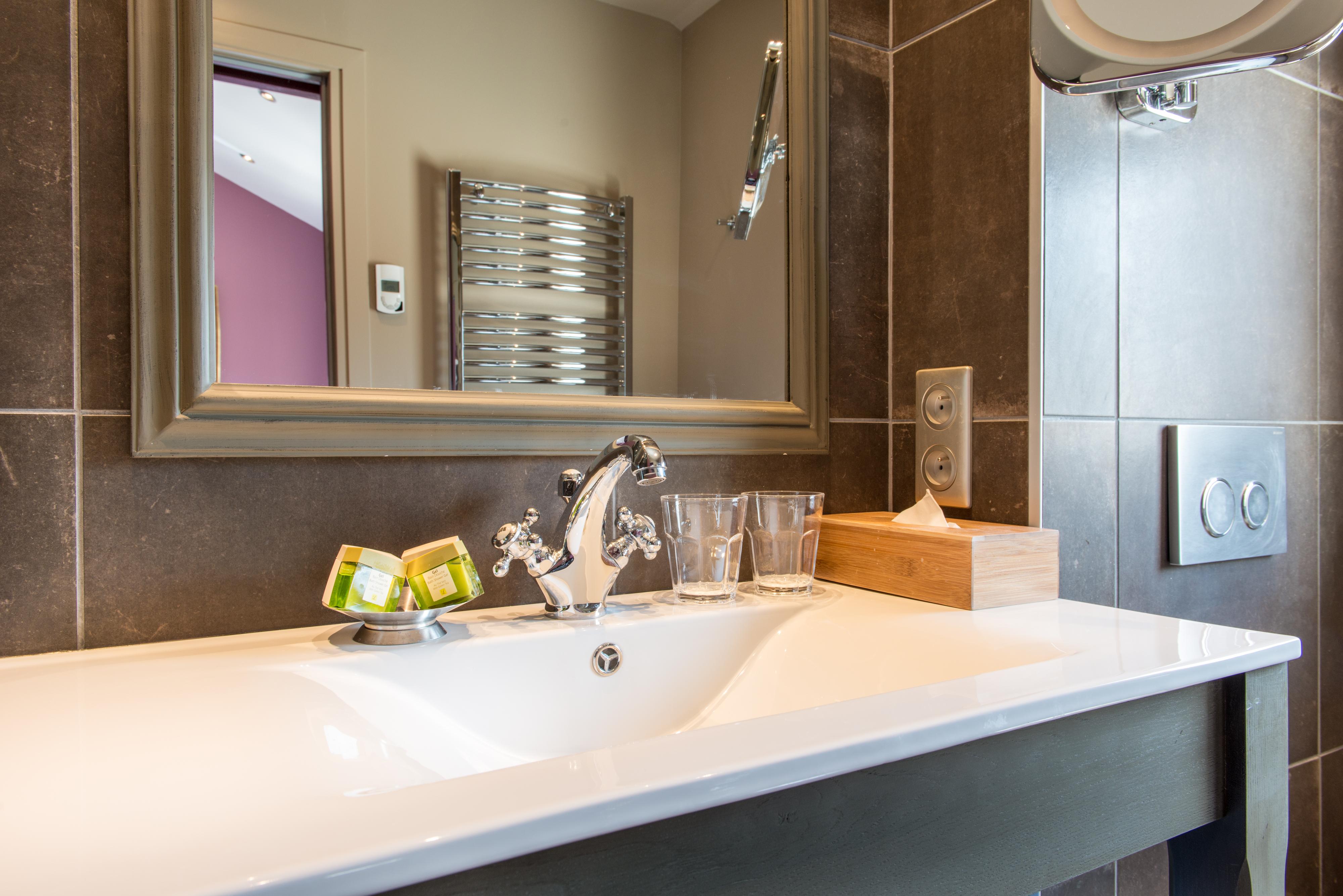 Salle de douche, Chambre Confort