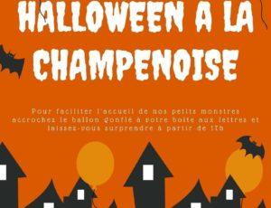halloween la champenoise